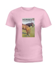 HORSES and other things I'm hung like  Ladies T-Shirt thumbnail
