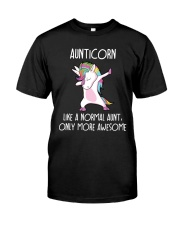 Aunticorn Like An Aunt Only Awesome Classic T-Shirt thumbnail