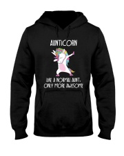 Aunticorn Like An Aunt Only Awesome Hooded Sweatshirt thumbnail