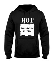 Hot Sauce Packet Shirt You Had Me At Taco Hooded Sweatshirt thumbnail