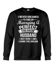 Perfect Freakin Husband Shirt Crewneck Sweatshirt thumbnail
