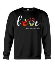 Love Grandma life Shirt Cute Grandma Gift Crewneck Sweatshirt thumbnail