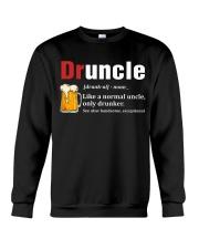 Druncle Beer Shirt Like A Normal Uncle  Crewneck Sweatshirt thumbnail