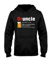 Druncle Beer Shirt Like A Normal Uncle  Hooded Sweatshirt thumbnail