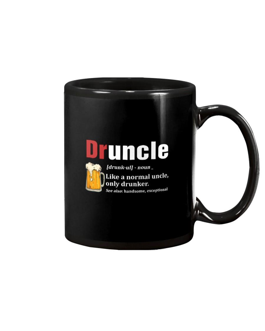 Druncle Beer Shirt Like A Normal Uncle  Mug