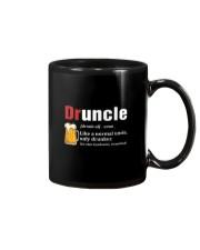 Druncle Beer Shirt Like A Normal Uncle  Mug front