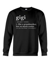 Gigi Grandmother Crewneck Sweatshirt thumbnail