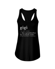 Gigi Grandmother Ladies Flowy Tank front