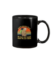 Sloth Hiking Team We Will Get There Mug front