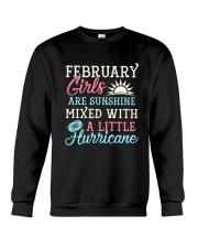 February Girl Birthday Gift Crewneck Sweatshirt thumbnail