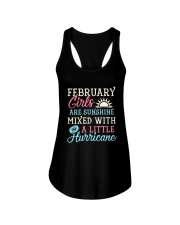 February Girl Birthday Gift Ladies Flowy Tank front