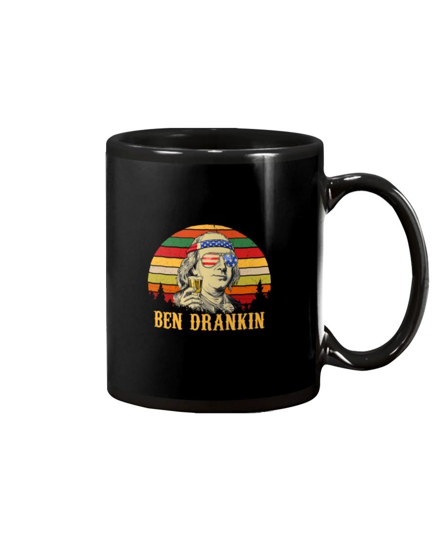 Vintage Ben Drankin 4th of July  Mug