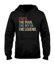 Papa Man Myth Legend Shirt For Mens Dad Father Hooded Sweatshirt tile