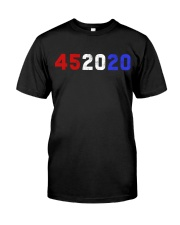 452020 Shirt 45 2020 Trump Classic T-Shirt thumbnail