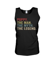 Poppy The Man The Myth The Legend Unisex Tank thumbnail