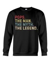 Pops The Man The Myth The Legend Crewneck Sweatshirt thumbnail