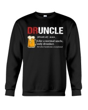 Druncle Beer Shirt Like A Normal Uncle  Crewneck Sweatshirt thumbnail