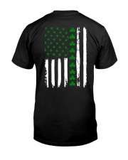 Irish American Flag Shirt St Patricks Day 2018 Classic T-Shirt tile