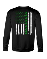 Irish American Flag Shirt St Patricks Day 2018 Crewneck Sweatshirt tile