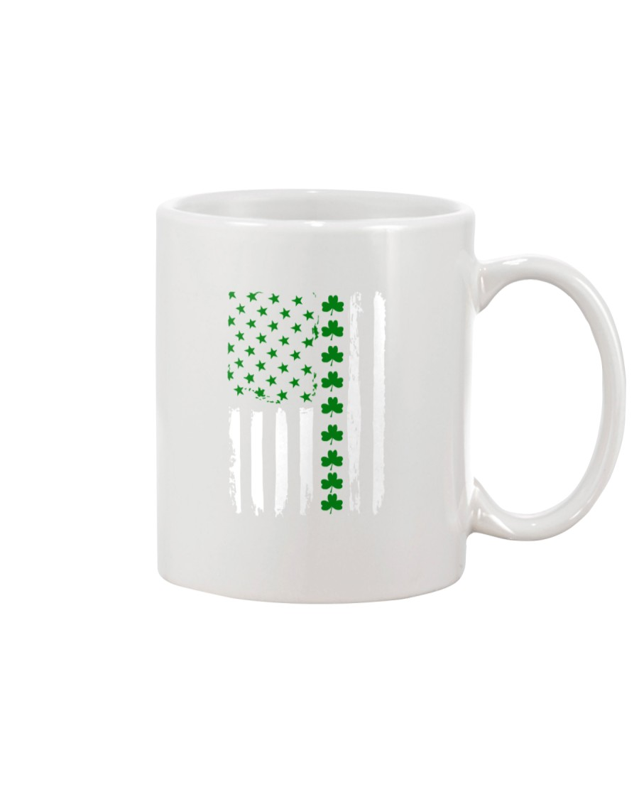 Irish American Flag Shirt St Patricks Day 2018 Mug