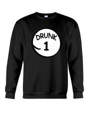 Drunk 1 Drunk 2 Shirts Crewneck Sweatshirt thumbnail