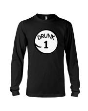 Drunk 1 Drunk 2 Shirts Long Sleeve Tee thumbnail