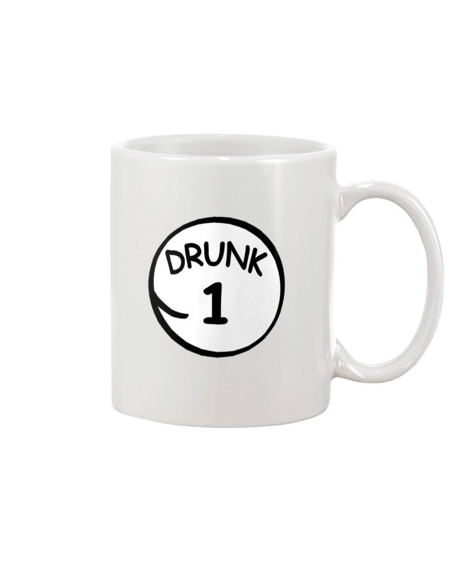 Drunk 1 Drunk 2 Shirts Mug