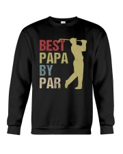 Best Papa by Par Funny Golf  Crewneck Sweatshirt thumbnail