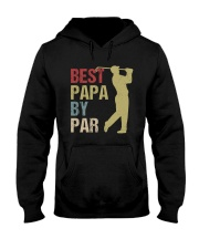 Best Papa by Par Funny Golf  Hooded Sweatshirt thumbnail
