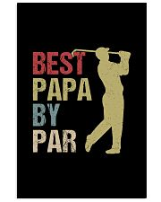 Best Papa by Par Funny Golf  11x17 Poster thumbnail