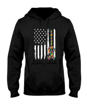 Autism Awareness Autism Mom Hooded Sweatshirt thumbnail