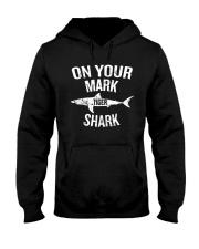 On Your Mark Tiger Shark T-Shirt Hooded Sweatshirt thumbnail