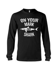 On Your Mark Tiger Shark T-Shirt Long Sleeve Tee thumbnail
