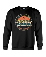 Vintage Poppy like a Grandpa only Cooler Crewneck Sweatshirt tile