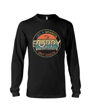 Vintage Poppy like a Grandpa only Cooler Long Sleeve Tee thumbnail