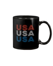 Vintage Retro Patriotic USA Mug thumbnail