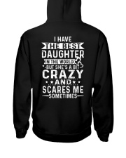 I have the best daughter dad gift Hooded Sweatshirt thumbnail
