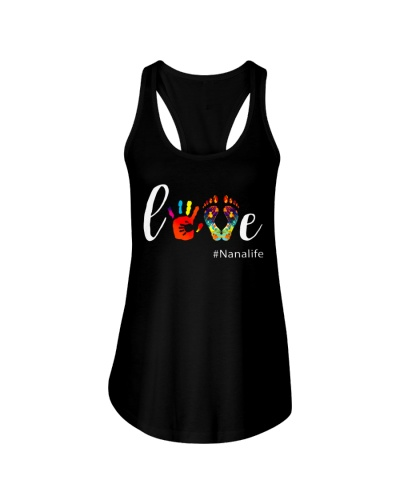 Love Nana life Shirt Cute Grandma Gift