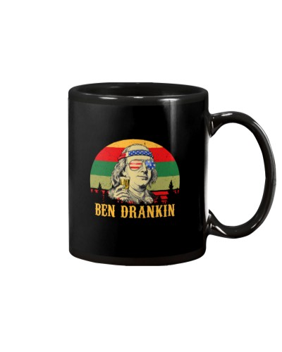 Vintage Ben Drankin 4th of July