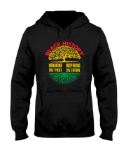 Honoring Past Inspiring Future Black History Month Hooded Sweatshirt thumbnail
