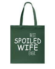 Best Spoiled Wife Ever Tote Bag thumbnail