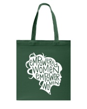 Feminist Empowered Women March Shirt Tote Bag thumbnail