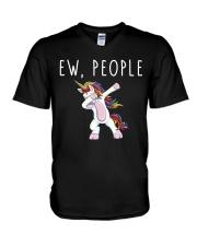 EW People Unicorn V-Neck T-Shirt thumbnail