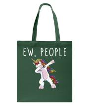 EW People Unicorn Tote Bag thumbnail
