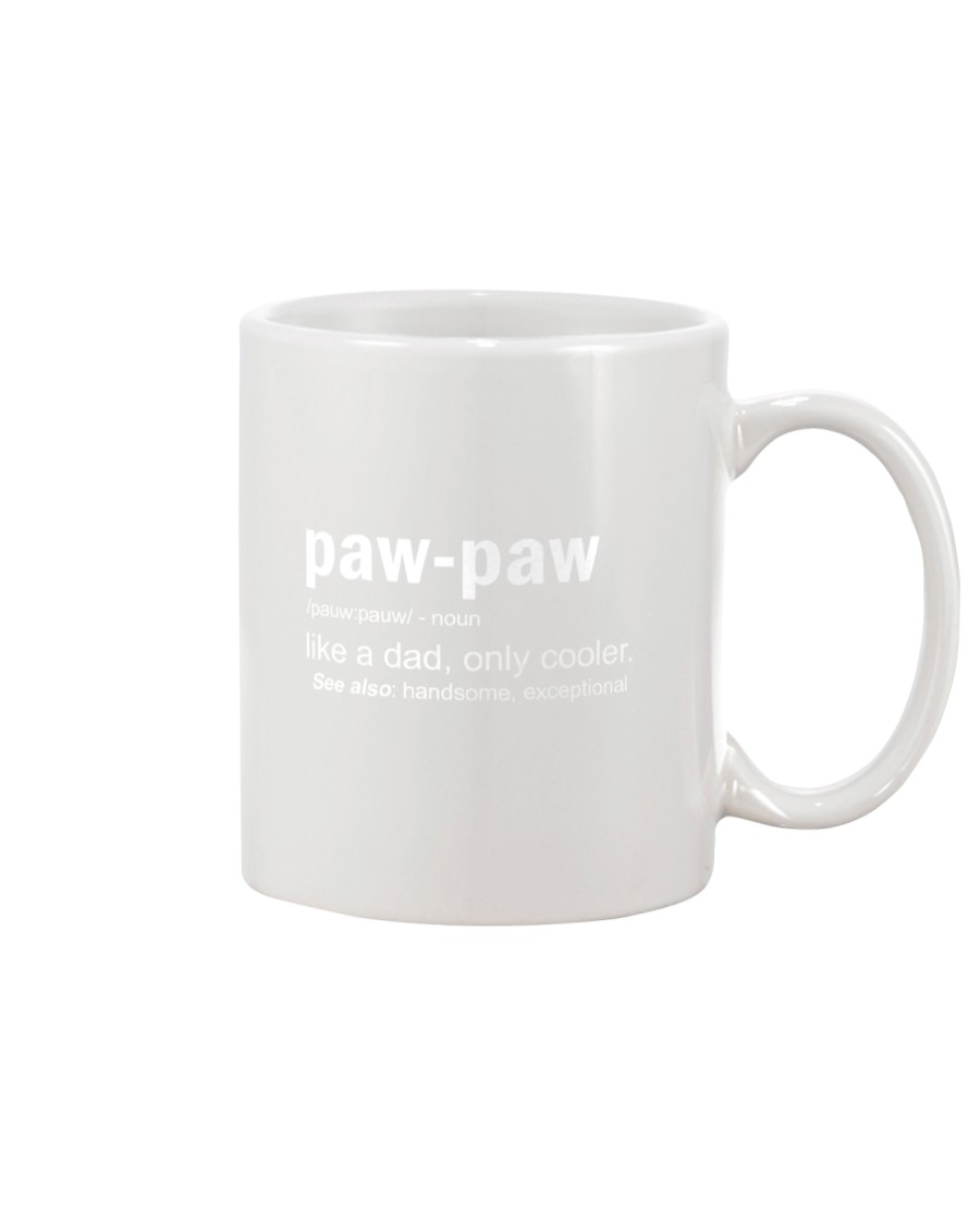 Pawpaw Definition Shirt Grandfather Mug