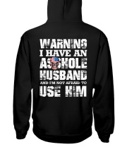 I HAVE AN ASSHOLE HUSBAND SHIRT Hooded Sweatshirt thumbnail