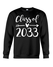 Class of 2033 Grow With Me First Day of School Crewneck Sweatshirt thumbnail