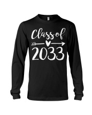 Class of 2033 Grow With Me First Day of School Long Sleeve Tee thumbnail