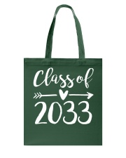 Class of 2033 Grow With Me First Day of School Tote Bag thumbnail