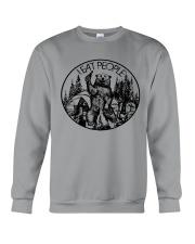 I Eat People Bear Camping Hiking Crewneck Sweatshirt thumbnail